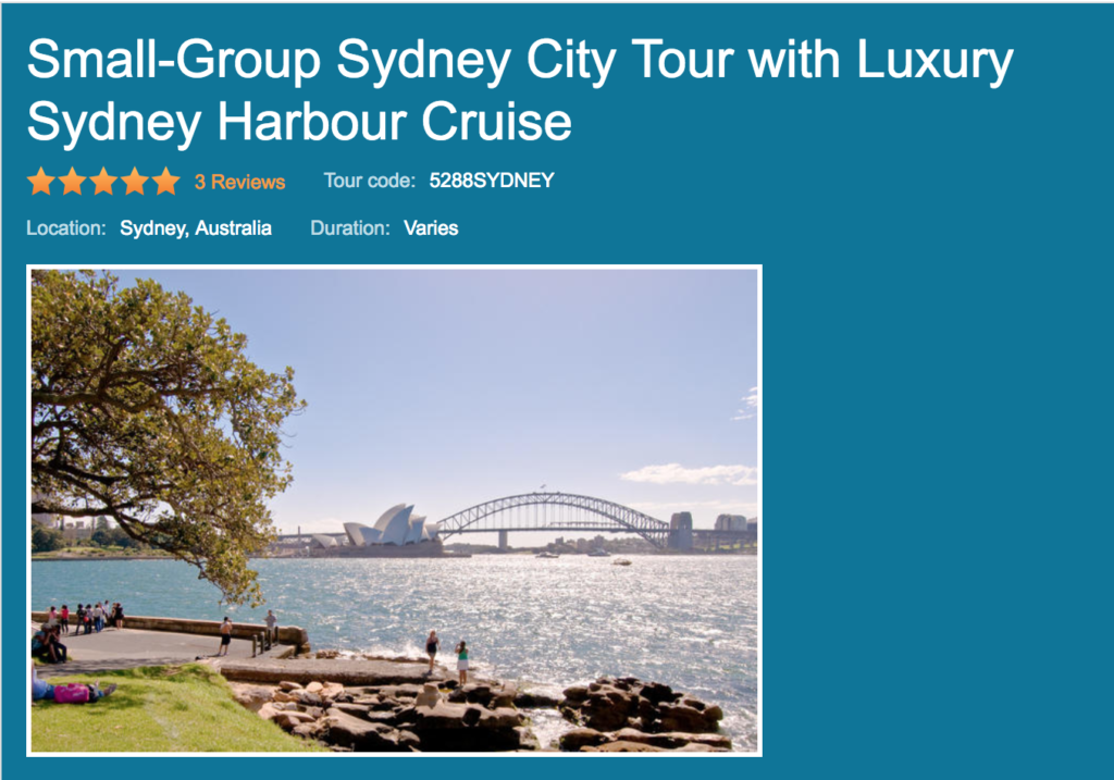 Small-Group Sydney City Tour with Luxury Sydney Harbour Cruise